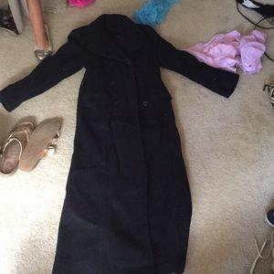 Jackets & Blazers - Ladies winter dress coat floor length